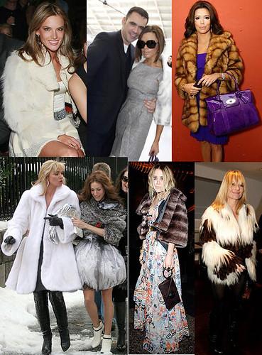 Fur Celebrities Gosh