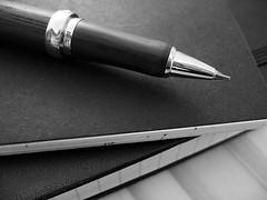 Blog Marketing Up Close Pen Graphic
