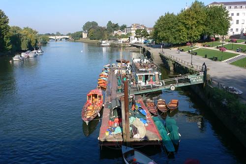 Boats by Richmond Bridge