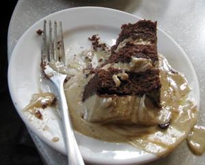 Melted Mocha Cake