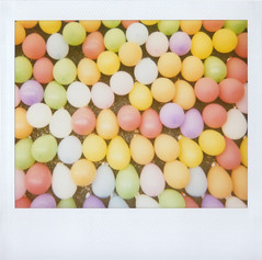 balloons (jena ardell) Tags: game color colors circle balloons polaroid colorful round polaroidspectra spectra oval jenaardell