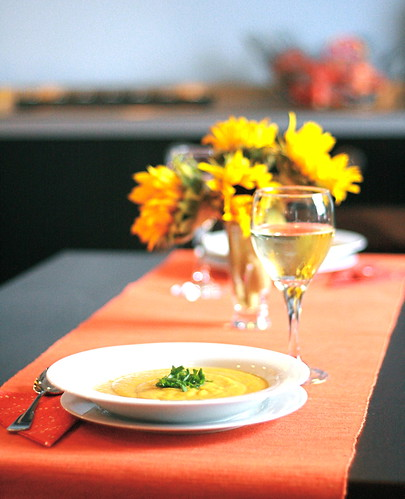 Squash Soup = Fall