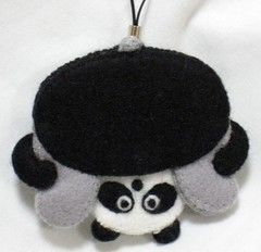 Panda (This and That From Japan) Tags: cute animal japanese panda felt charm kawaii acessories