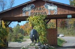 Parc Omega gate
