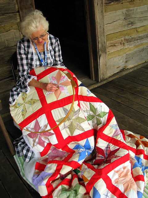 100 Things to see at the fair #45: Quilting Demonstration