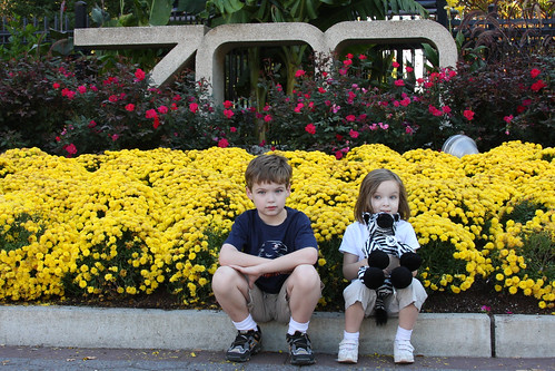 Max and Molly at the National Zoo