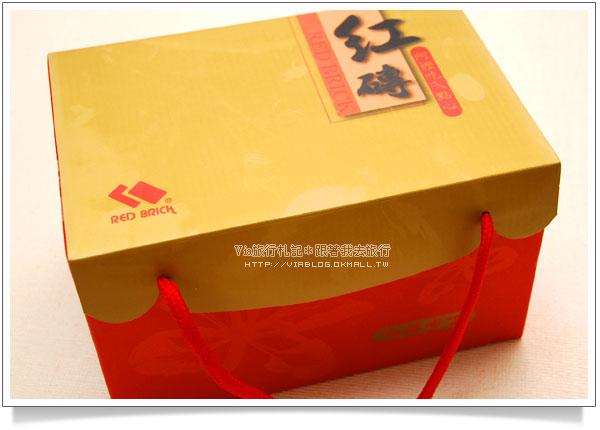【台南伴手禮紅磚布丁】府城烤布丁~台南美食紅磚布丁