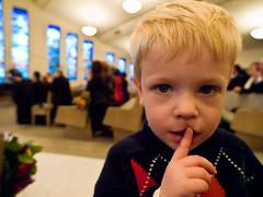 Be Quiet in Church