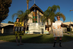 What is Morally Wrong Cannot Be Politically Right (dogwelder) Tags: california girls signs love church october election marriage zurbulon6 2008 johnlennon equality protestors fairness granadahills zurbulon gatturphy proposition8 hillcrestchristianschool
