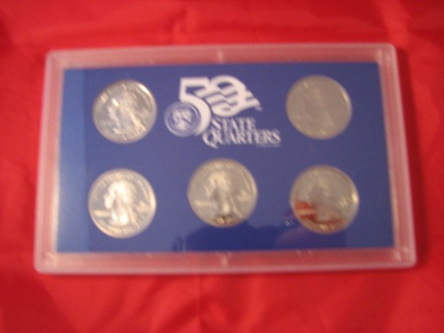 Coins state quarters