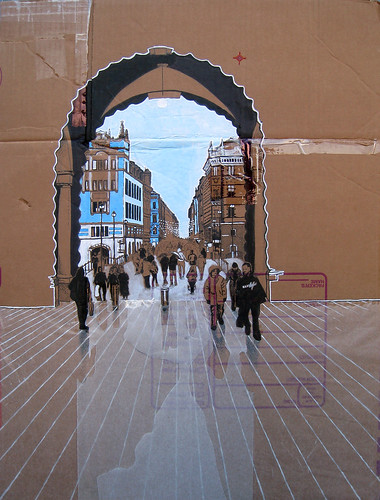 Stockholm Archway into Gamla Stan