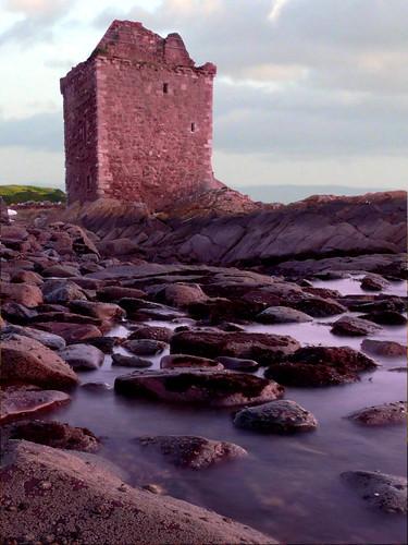 Portencross castle