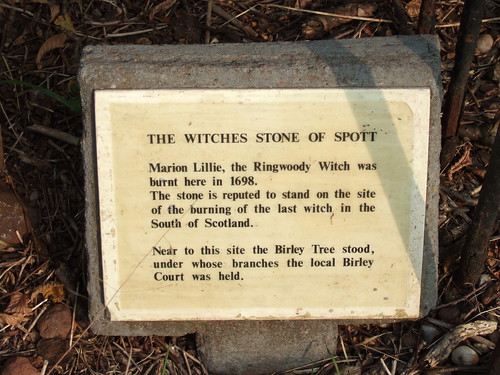 Witches Stone of Spott