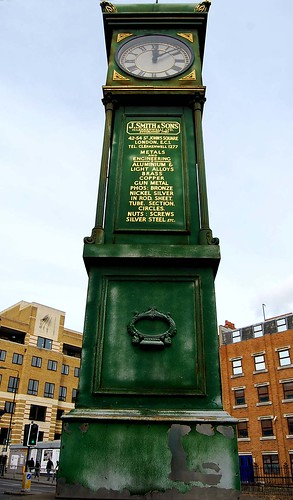 J Smith & Sons Clock at Goswell Road