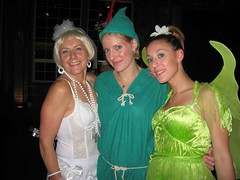 Madonna, Peter Pan and Tinkerbell