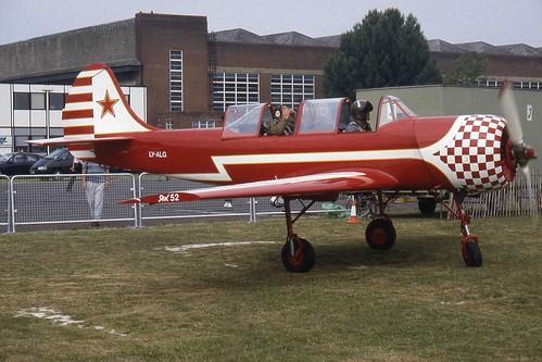 Yak 52 LY-ALG par peamasher