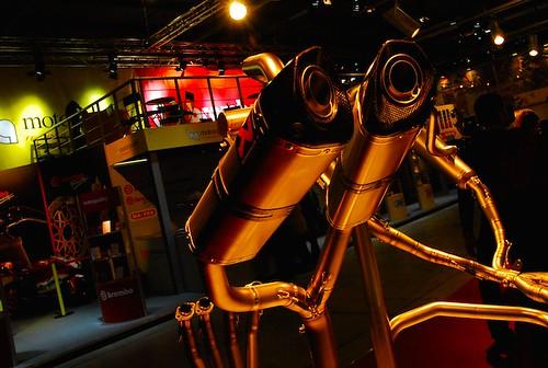 EICMA 2008 : GuzziTeam72