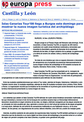 14/11/08_EUROPA PRESS BURGOS1 (ISLAS CANARIAS TOUR'08) Tags: de notas prensa