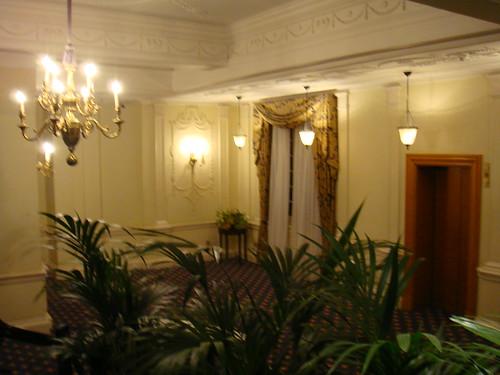 Detalle del interior del hotel
