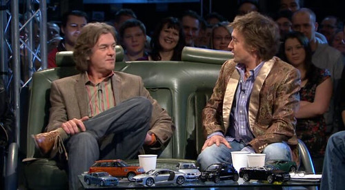 Top Gear S12E03: Jackets and Model cars