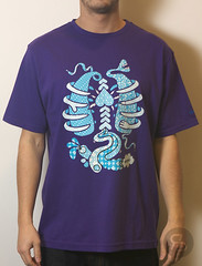 Staple Innards Tee - Purple