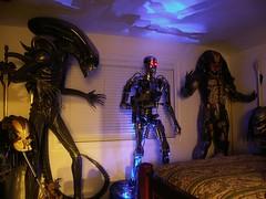 Life-size Terminator (FelMarWETA) Tags: day alien 11 replica stan warrior terminator predator lifesize winston prop avp judgment giger t2 endo endoskeleton endoskull endoarm
