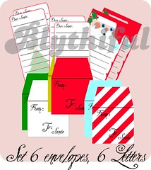 1:6 Set of letters to Santa