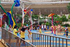 Splash Pad #2 (chooyutshing) Tags: wet water playground children singapore shoppingmall imm roofterrace splashpad