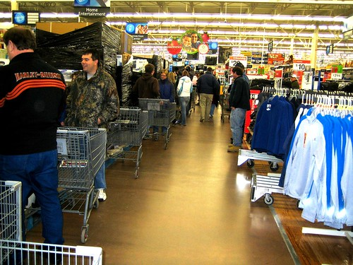 Walmart - Black Friday 2008