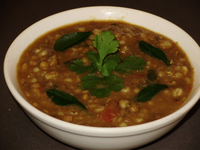 Lentil fusion curry - Indian style
