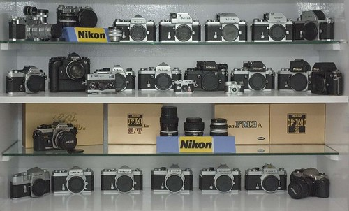 My Nikon Camera Collection