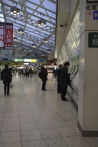 上野・朝の光景