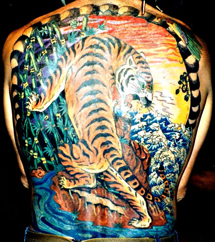 tattoo tiger. Back Tattoo - Tiger