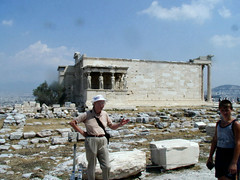 Me with Erechtheon in background