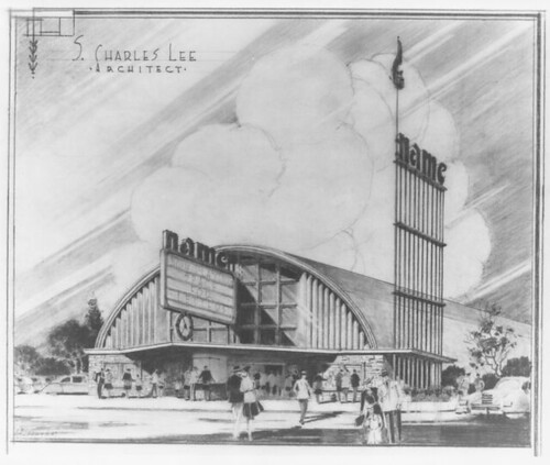 Puente Theatre drawing