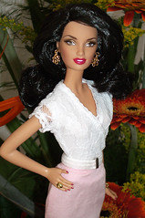 Diane von Furstenberg Flowers (billygirl19) Tags: dolls designer barbie collection dianevonfurstenberg ravenhair modelmuse