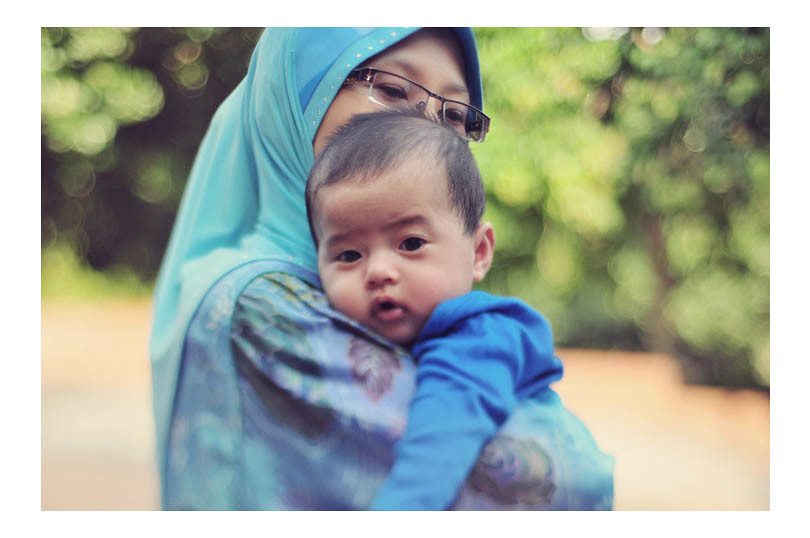 Mother & Son, Photo by Faizal Omar