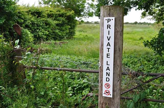 private land