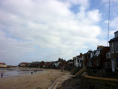 Casas costeras de North Berwick