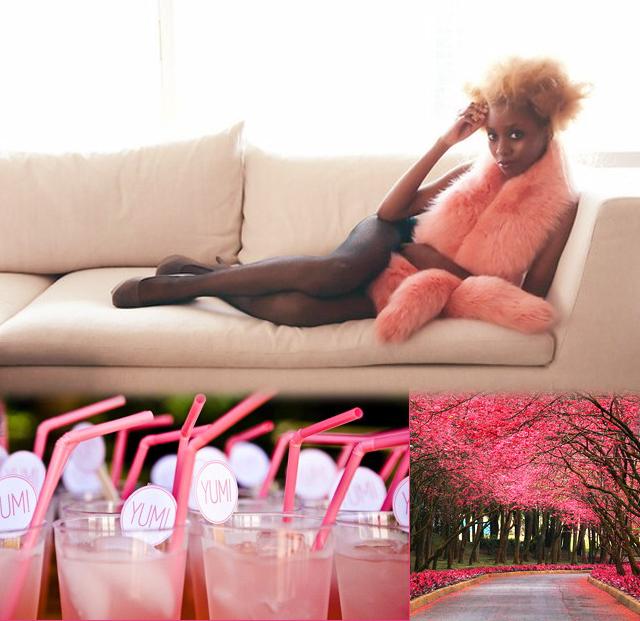Honeysuckle + Watermelon + Pink 7