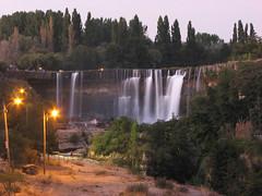 Salto del Laja (annais) Tags: chile longexposure trip water night waterfall losangeles agua concepcion 2008 turismo vacaciones saltodellaja largaexposicion  annais chilelandmark