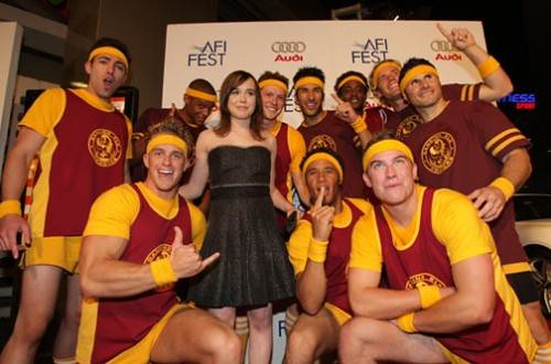 ellen page and dancing elks
