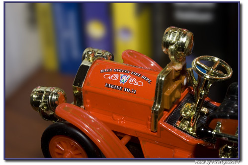 Disney World Fire Engine