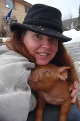 266:365 Me & my lap pig