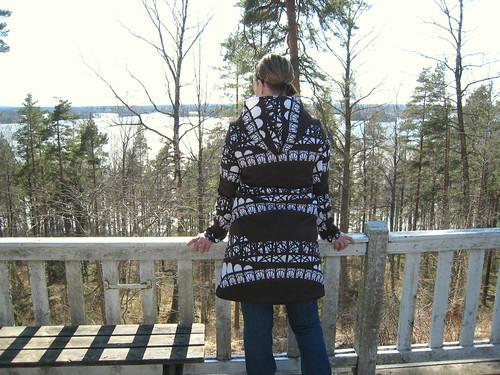 Sewn Spring Coat