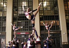 Cheerleading at Convention Hall (Sister72) Tags: athletics cheerleaders asburypark nj competition april cheers monmouthcounty cheerleading 2008 warmup conventionhall 123nj