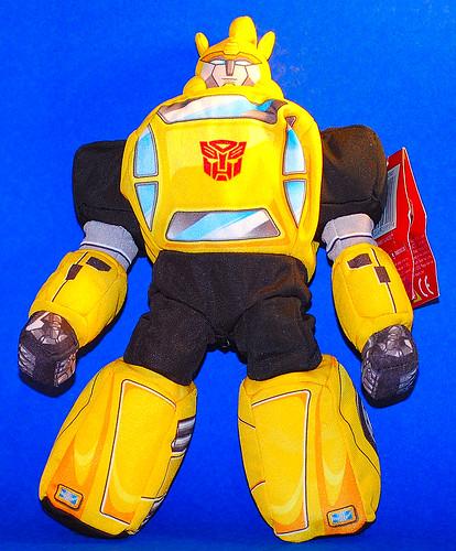 Transformer Bumblebee peluche robot