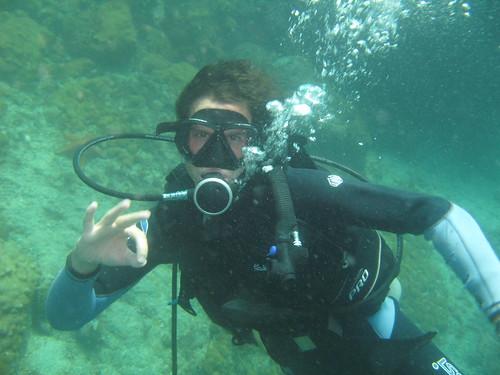 Underwater OK Signal