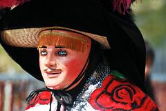 5 de Mayo - La Batalla de Puebla (Nanynany) Tags: nyc newyork brooklyn mexico costume nikon parade disfraz mexicanos mascara nikkor sunsetpark 70300mm 2008 celebracion nany 5demayo batalladepuebla nanynanycom d40x ¡vivaméxico¡vivajuárezvivael5demayo