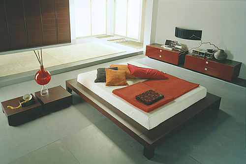 Modern Minimalist Bedroom Idea 1 Set Furnituer